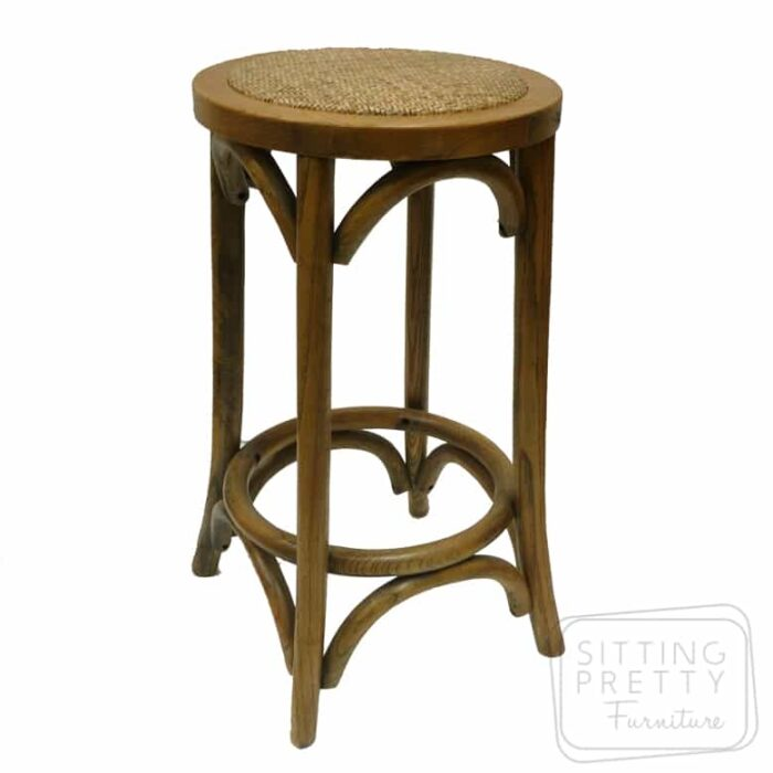 Bella Backless Stool - Oak