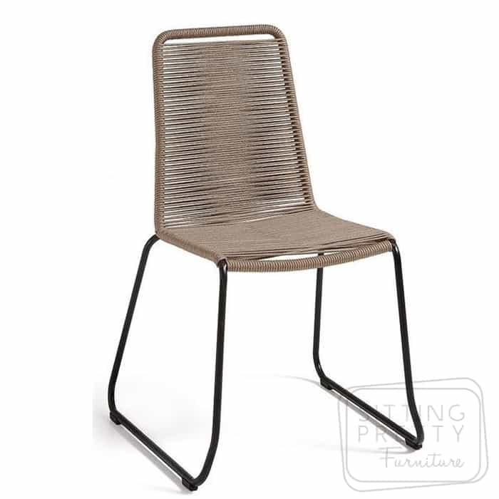 Crusoe Rope Chair - Fawn