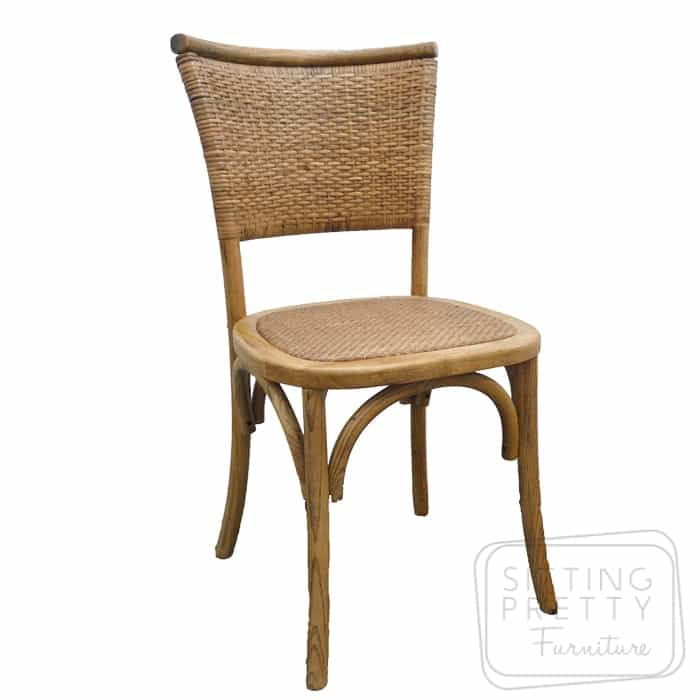 Flaxen Oakwood Chair – Natural