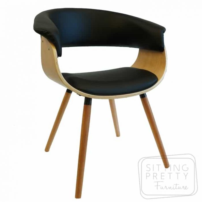 James Chair Oak/Black