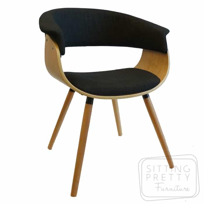 James Chair Oak/Charcoal
