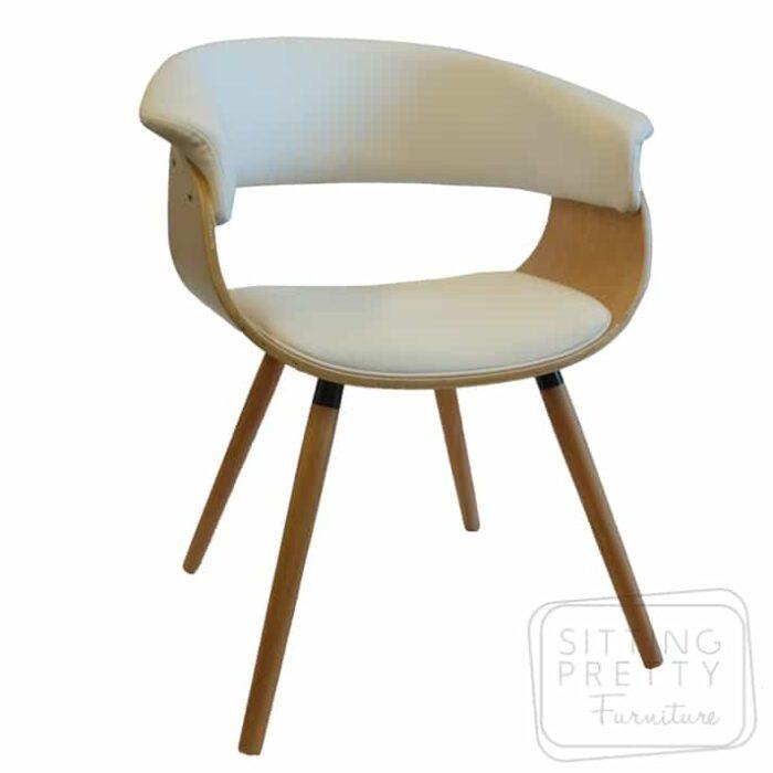James Chair Oak/White
