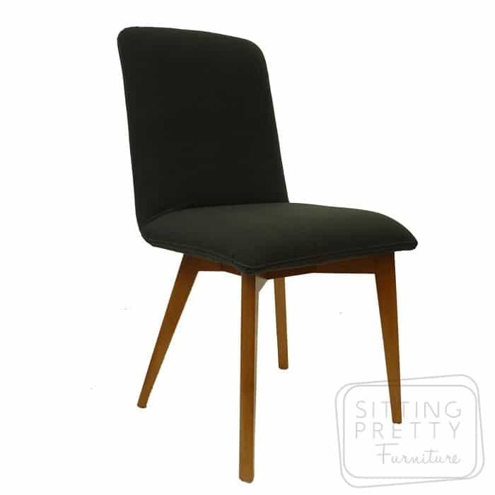 Jesper Chair - Charcoal Fabric