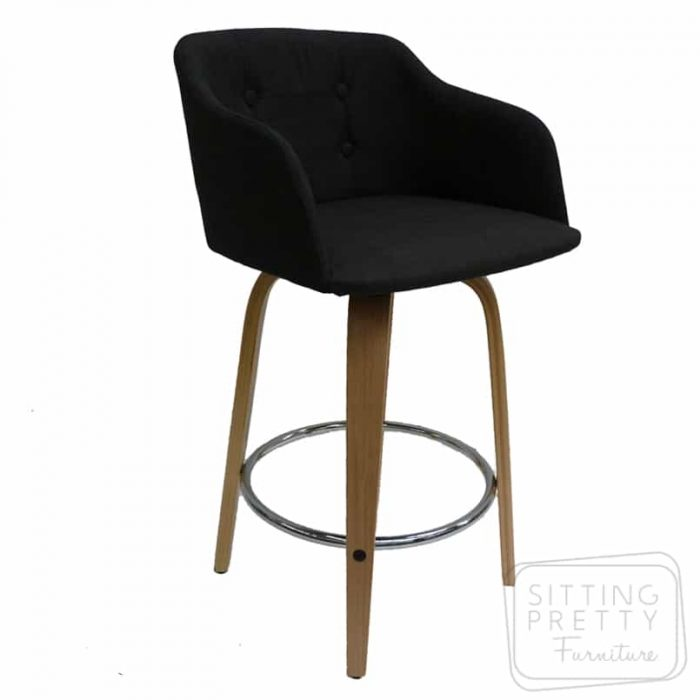 Magnum Swivel Stool - Charcoal