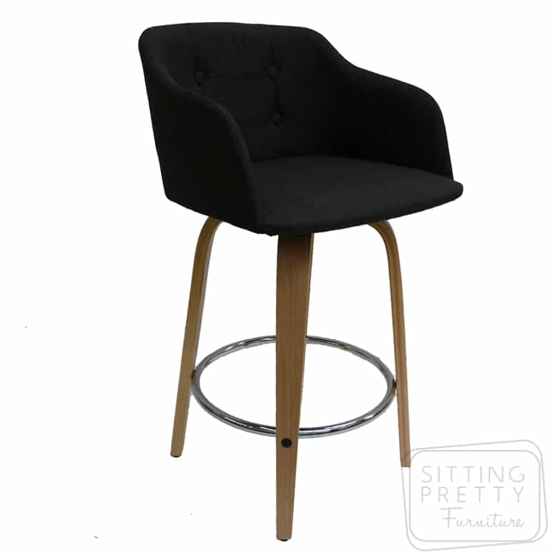 Magnum Swivel Stool – Charcoal