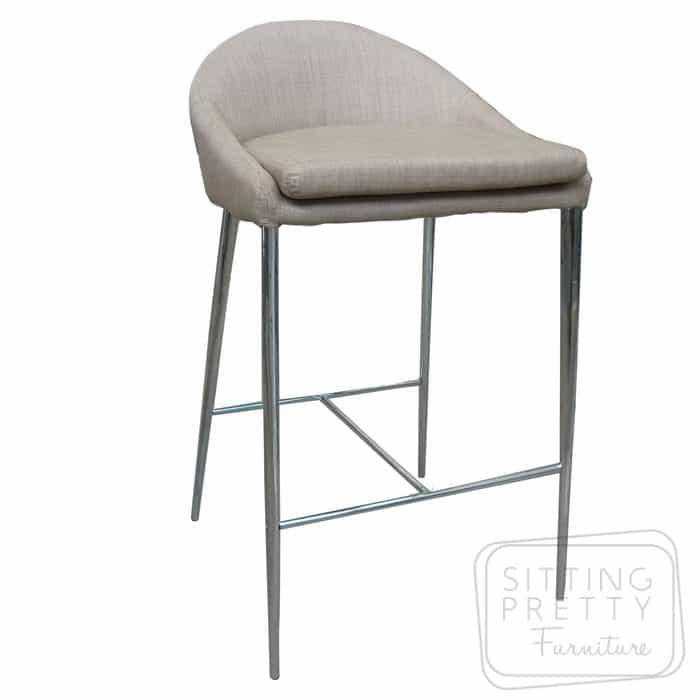 Martini Stool - Oatmeal