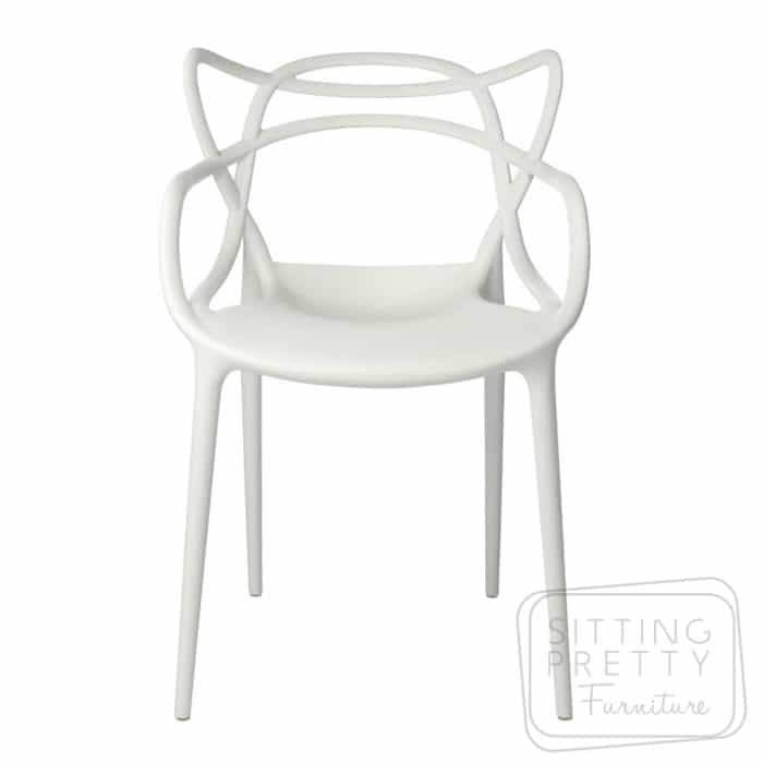 Replica Philippe Starck Masters Chair - White