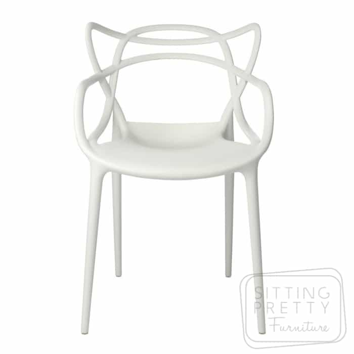 Replica Philippe Starck Masters Chair – White – DUE LATE JAN