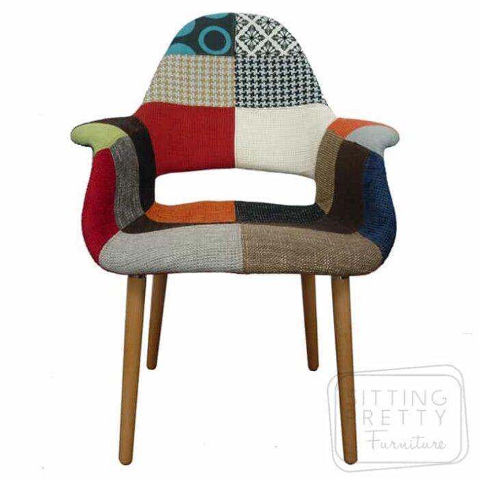 Replica Organic Patchwork Chair