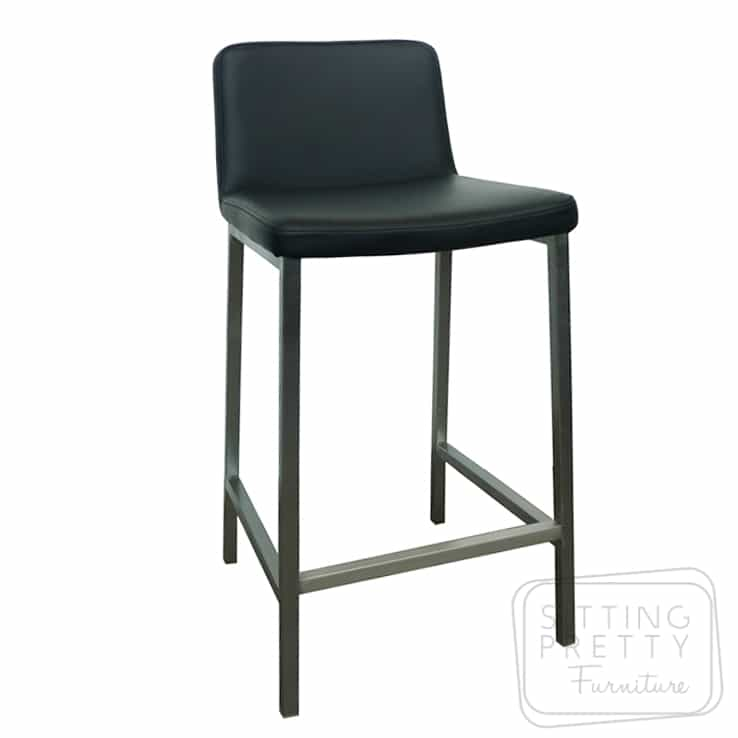 Presto Stainless Steel Stool - Black