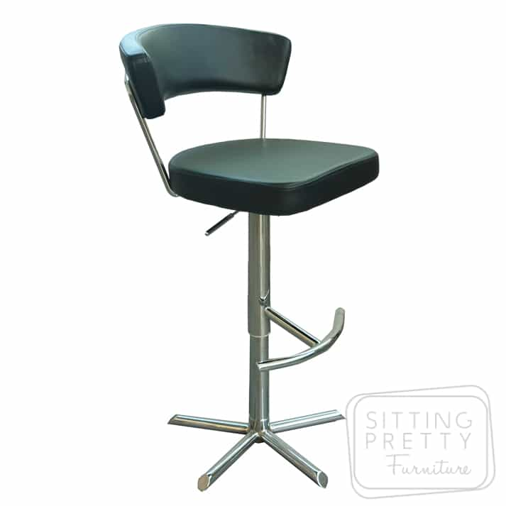 Reno Gaslift Stool - Black