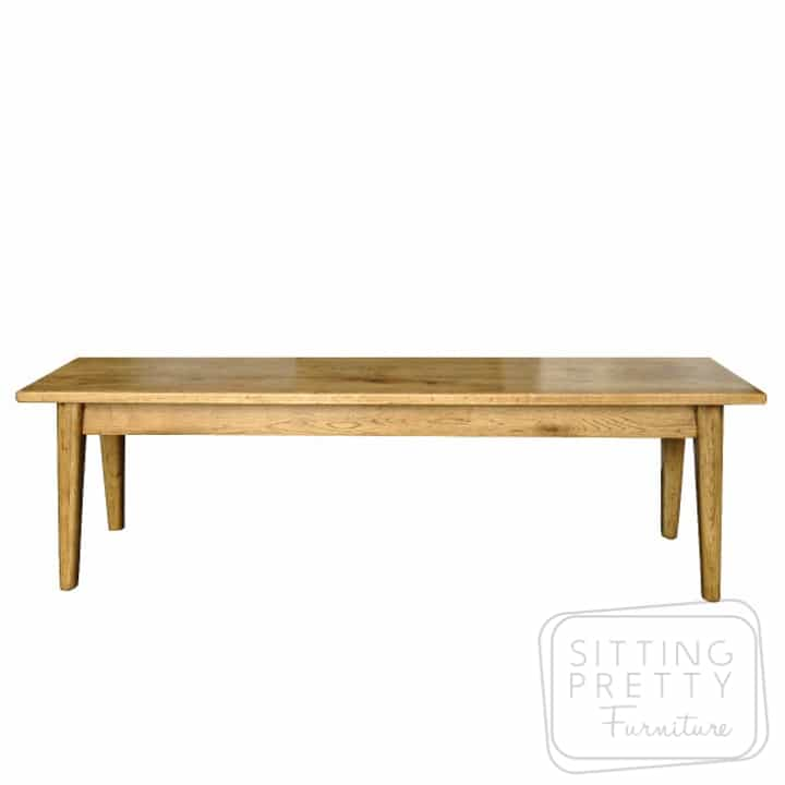 Tiffany Oakwood Dining Bench - 185cm