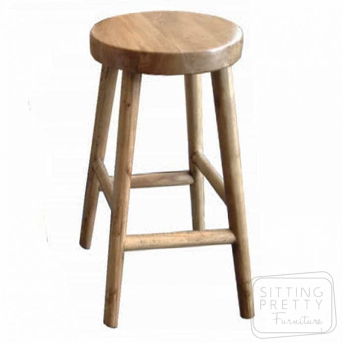 Tiffany Oakwood Stool - Natural