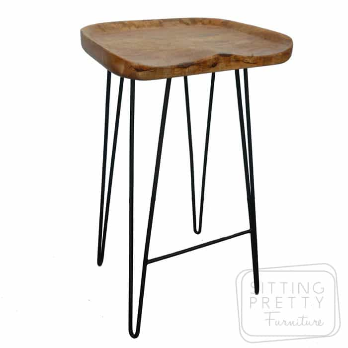 Tractor Hairpin Stool