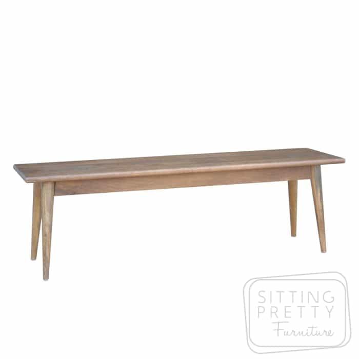 Tribeca Mango Wood Dining Bench – Two Sizes
