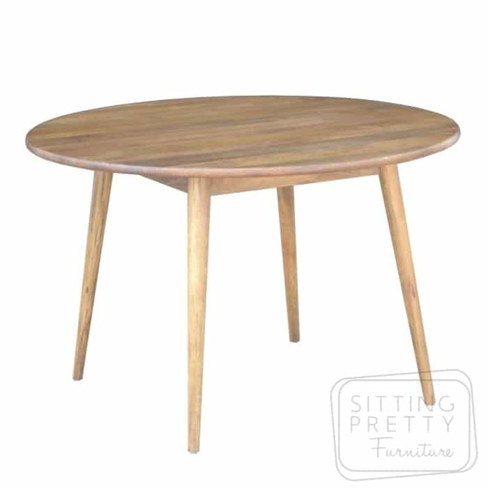 Tribeca Mango Wood Round Table 120cm