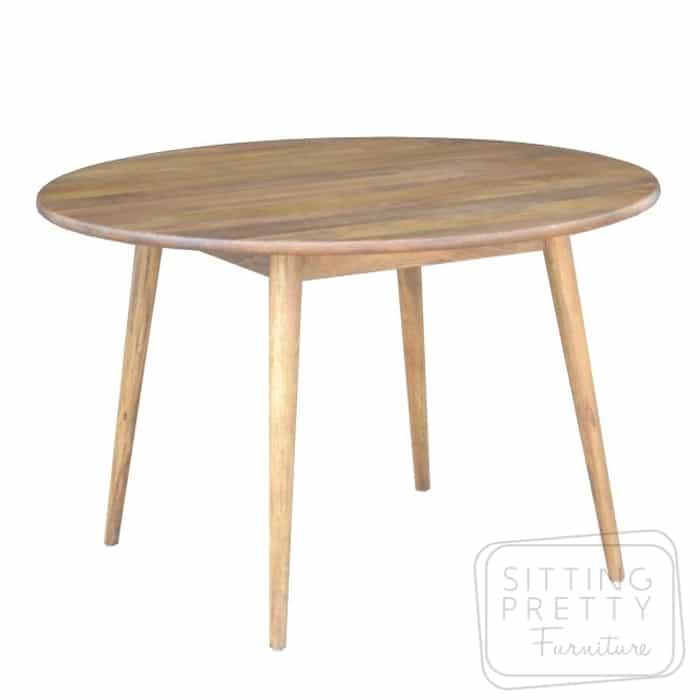Tribeca Mango Wood Round Table 120cm