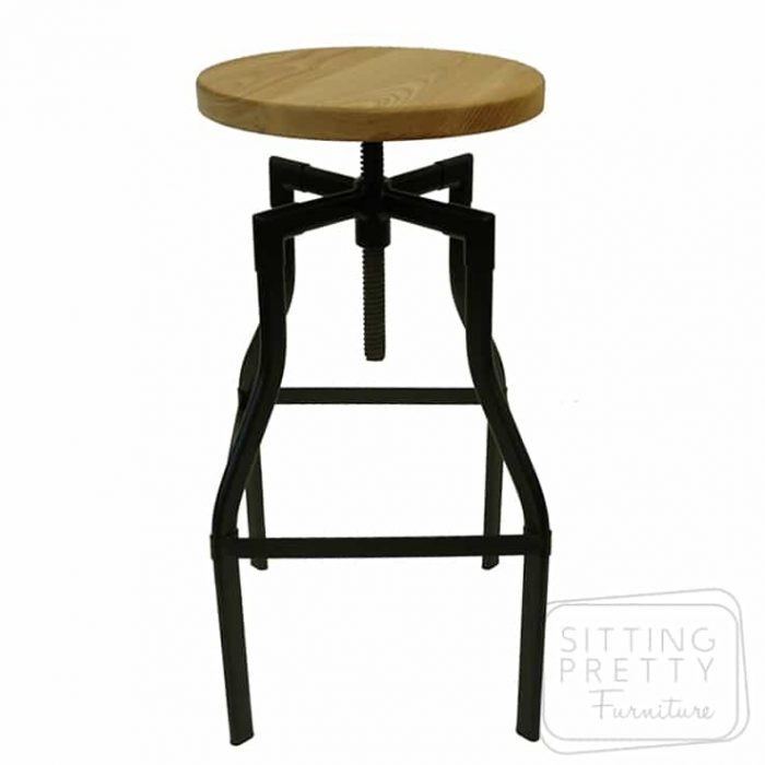 Replica Turner Stool - Black