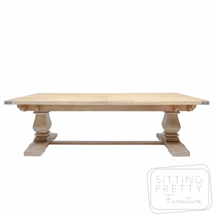 Cristo Table Extension Table 258-348cm (FLOOR MODEL)