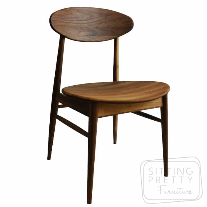 Verve Solid American Walnut Chair