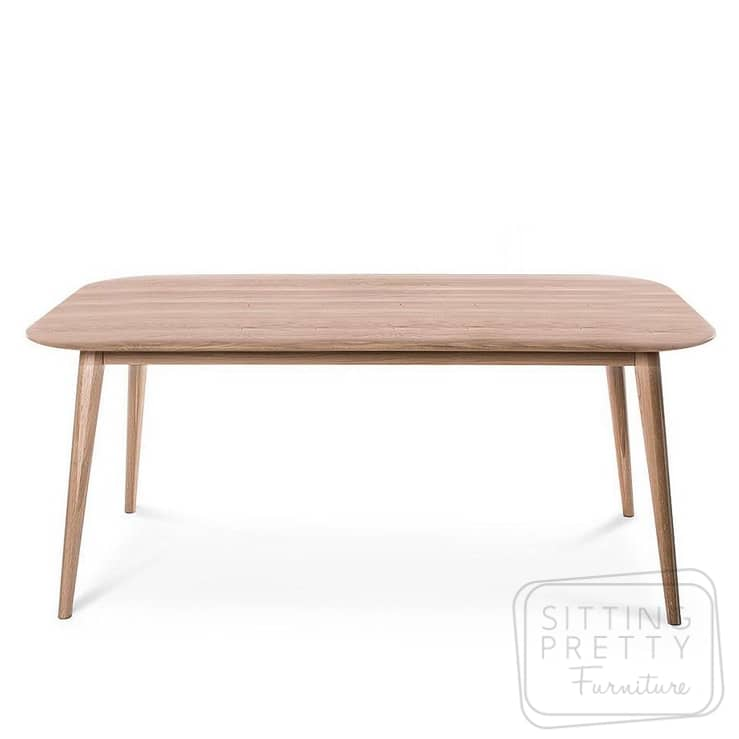 Verve Solid American Oak Table – Various Sizes
