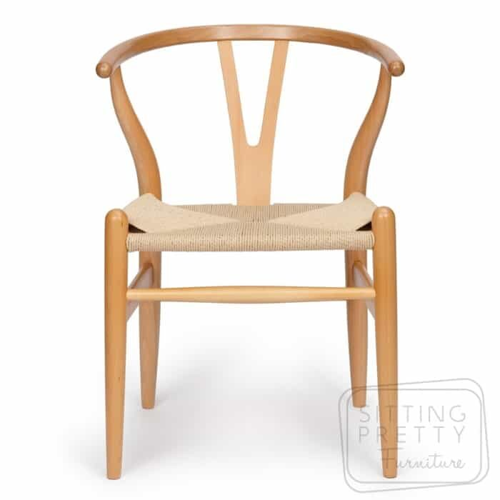 Replica Hans Wegner Wishbone chair - Natural