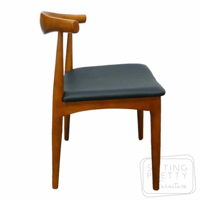 Replica Hans Wegner Elbow Chair - Walnut