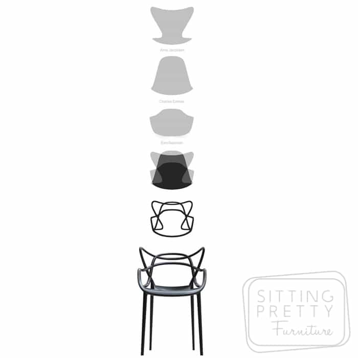 Replica Philippe Starck Masters Chair - Black  sc 1 st  Products - Designer Furniture Perth - Sitting Pretty Furniture ... & Products - Designer Furniture Perth - Sitting Pretty Furniture ...