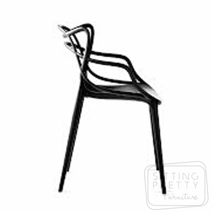 Replica Philippe Starck Masters Chair - Black