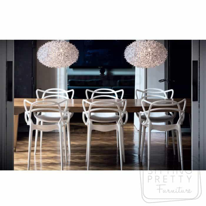 Replica Philippe Starck Masters Chair - White