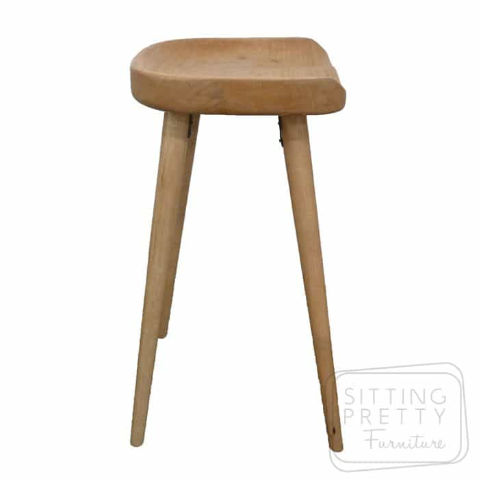 Replica Tractor Counter Stool (Mango Wood) - DUE MID MAY