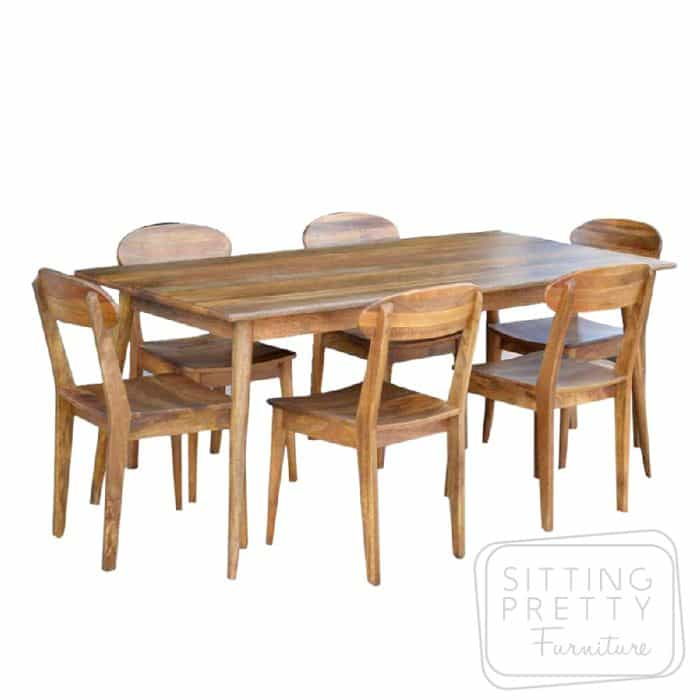 Tribeca Mango Wood Table 150cm