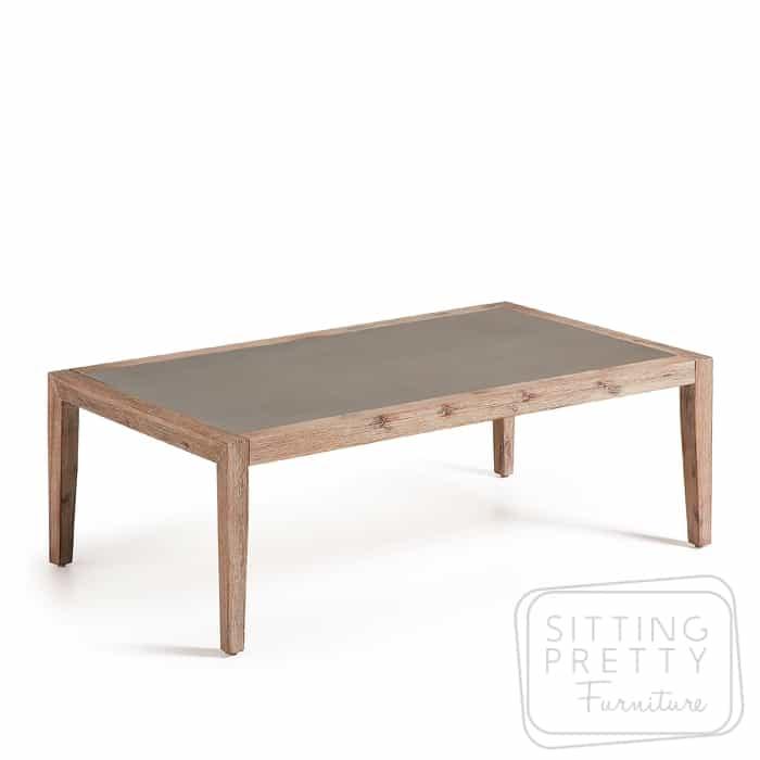 Corvette Concrete Coffee Table – 120cm by LaForma