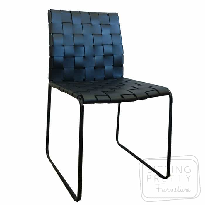 Mesh Chair – Black