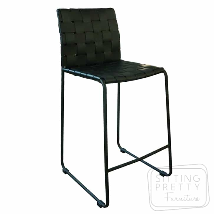 Mesh Stool with Back