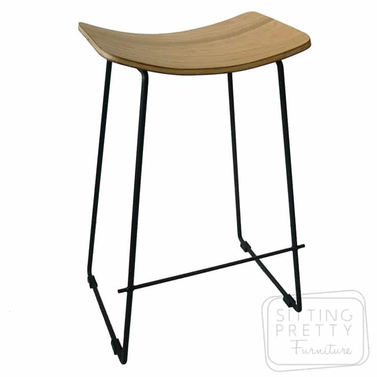 Replica Potter Counter Stool – Oak plywood seat