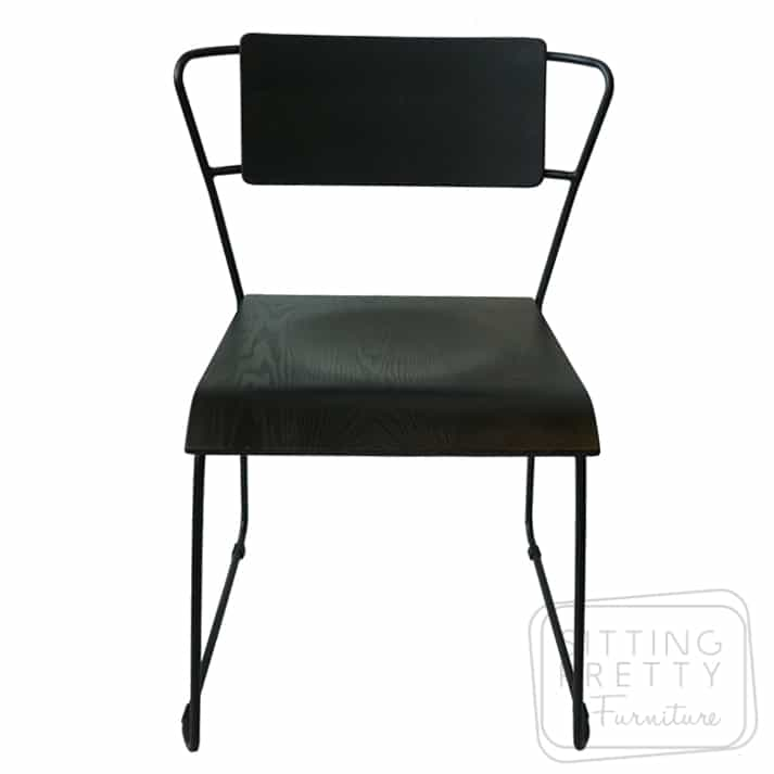 Space Plywood Chair – Black