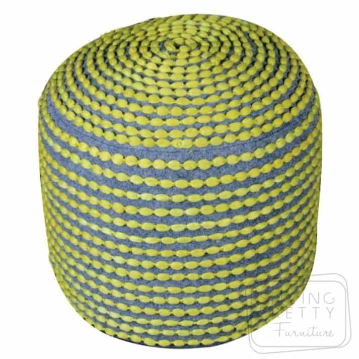 Rococco Pouffe – Green