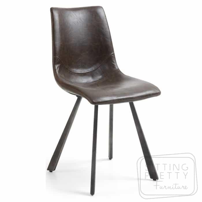 Trac Chair – Dark Brown