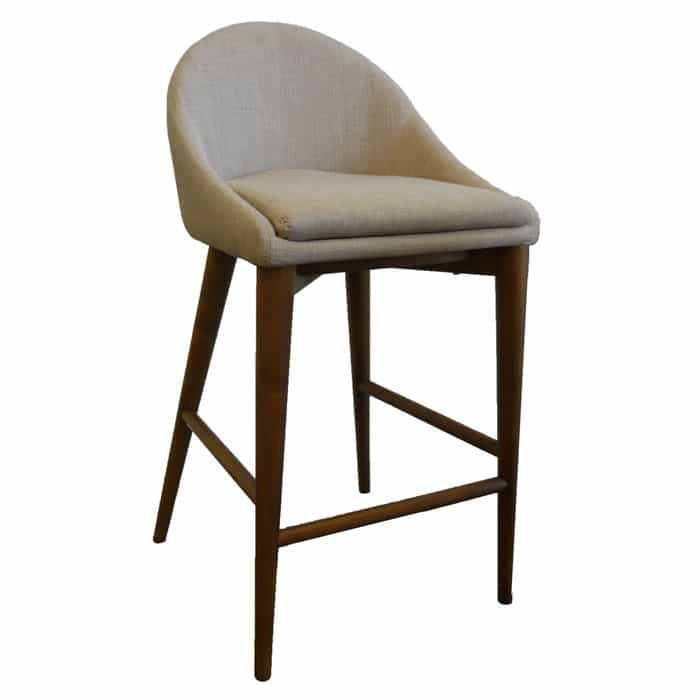 Copenhagen Stool – Oatmeal Fabric