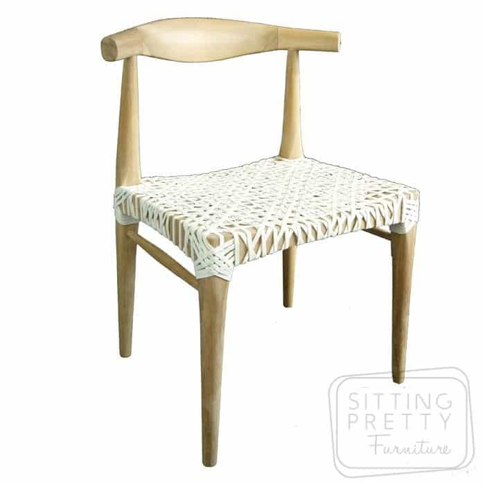 Horn Chair U2013 Teak U0026 Leather U2013 ALMOST GONE