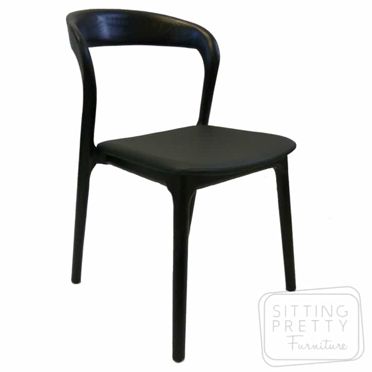Waldorf Chair – Black – DUE LATE OCT