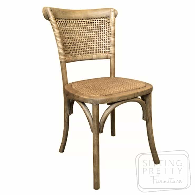 Paris Rattan Chair – Natural