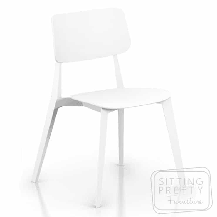 Stellar Stackable Chair – White