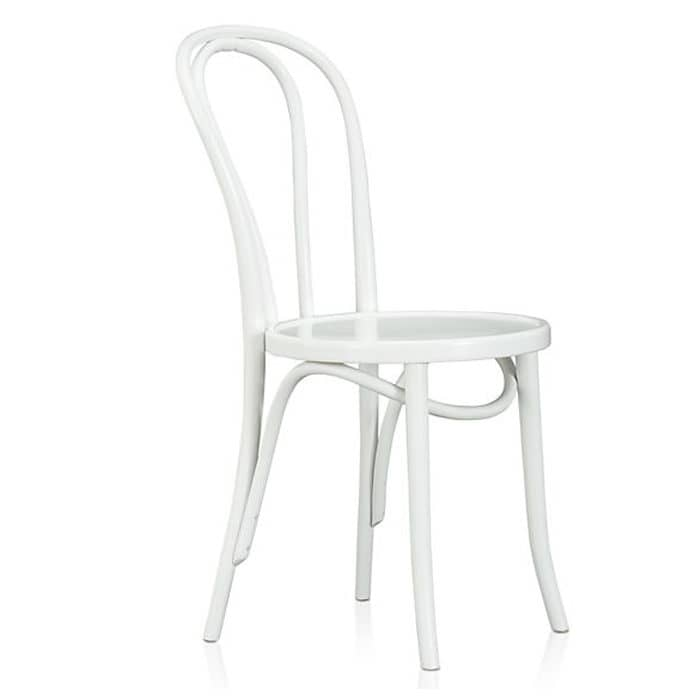 Merveilleux Replica Bentwood Timber Chair U2013 White