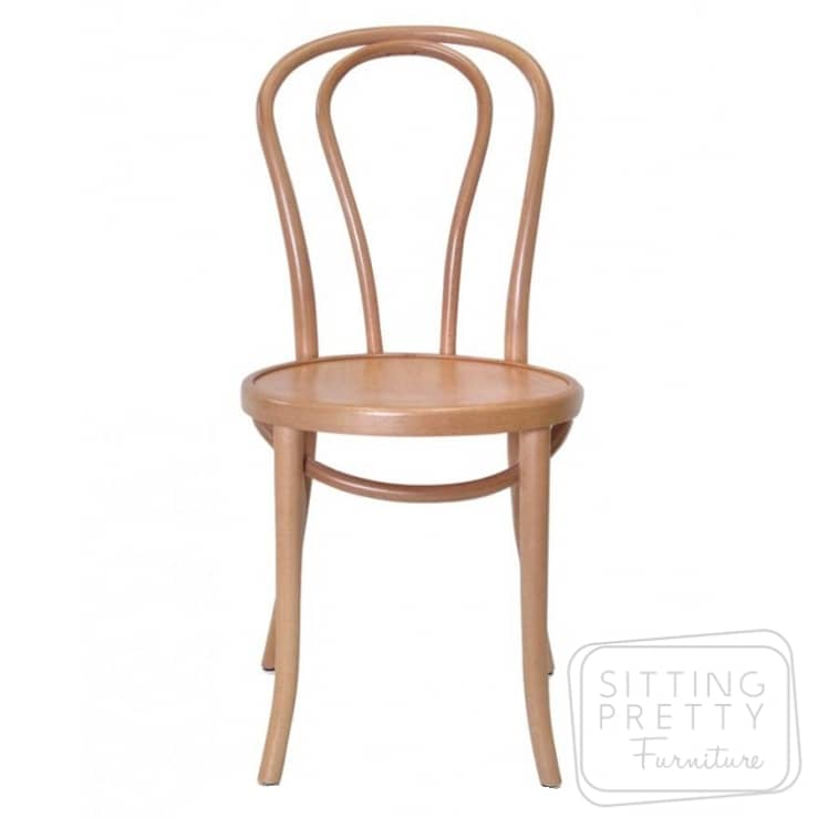 Replica Bentwood Timber Chair – Natural