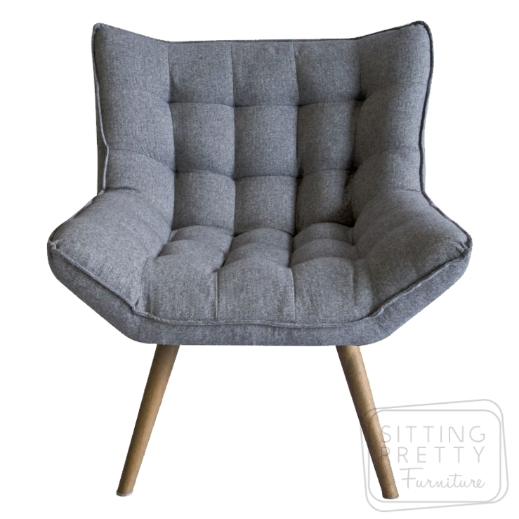 Bronti Occasional Chair – Grey