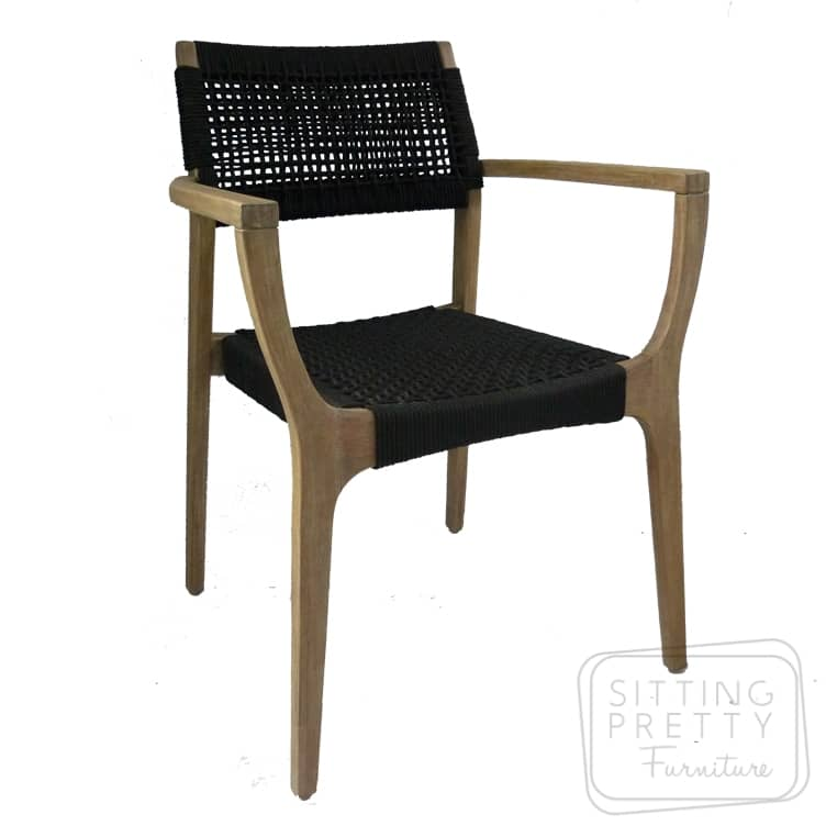 Cool Byron Stackable Dining Chair Black Beutiful Home Inspiration Xortanetmahrainfo