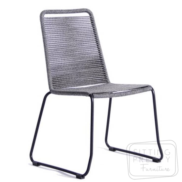Crusoe Rope Chair – Marle Grey