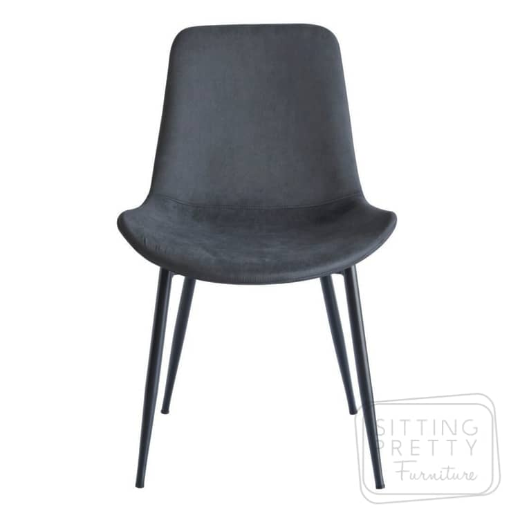 Haro Chair – Vintage Charcoal PU